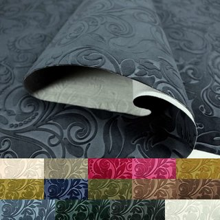 ASTORIA D2 Microfiber Velvet Furnishing Upholstery Fabric Patterned Jacquard