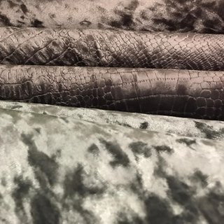 DIVA PLAIN Decorator Furnishing Upholstery Fabric Velvet