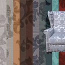 DAYTONA FLOWER Decorator Furnishing Upholstery Fabric...